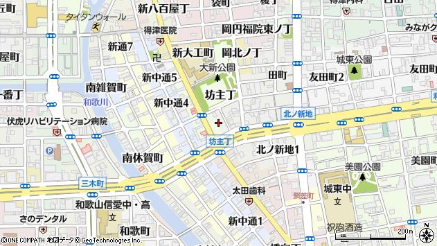 〒640-8363 和歌山県和歌山市岡南ノ丁の地図