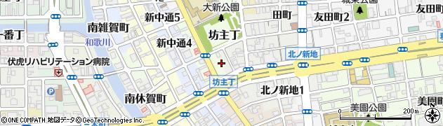 和歌山県和歌山市岡南ノ丁周辺の地図