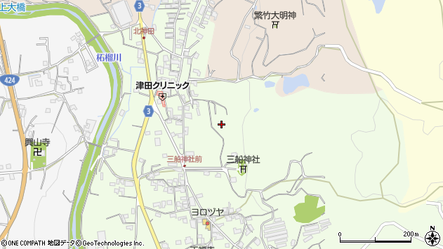〒649-6123 和歌山県紀の川市桃山町神田の地図