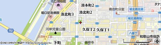 和歌山県和歌山市小野町周辺の地図