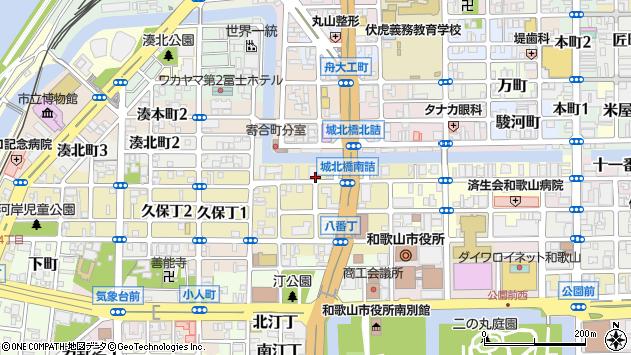〒640-8150 和歌山県和歌山市十三番丁の地図