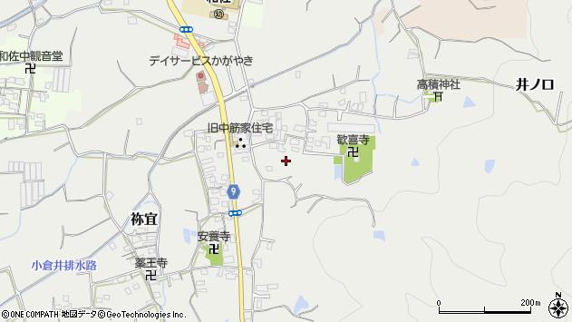 〒649-6324 和歌山県和歌山市祢宜の地図