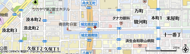 麺屋 ひしお周辺の地図