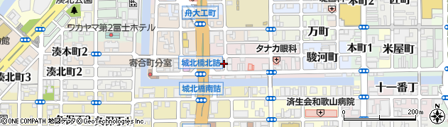 和歌山県和歌山市卜半町周辺の地図