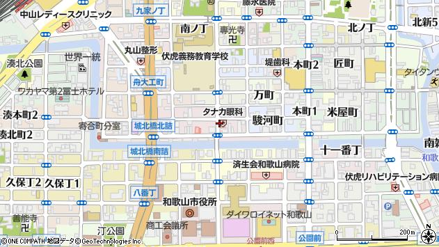 〒640-8043 和歌山県和歌山市福町の地図