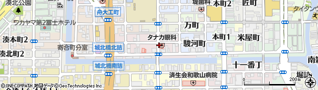 和歌山県和歌山市福町周辺の地図