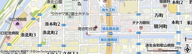 和歌山県和歌山市寄合町周辺の地図