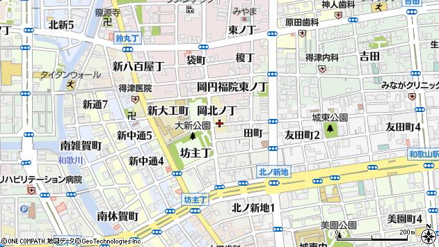 〒640-8365 和歌山県和歌山市岡北ノ丁の地図