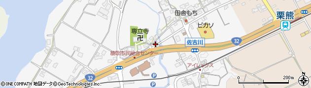 香川県丸亀市綾歌町栗熊西周辺の地図