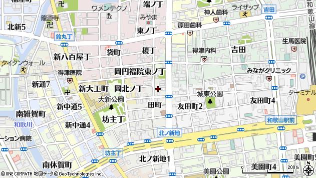 〒640-8351 和歌山県和歌山市新内の地図