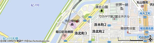 和歌山県和歌山市湊本町周辺の地図