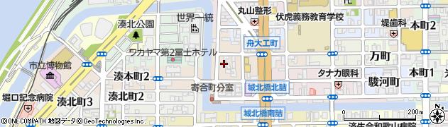 和歌山県和歌山市橋丁周辺の地図