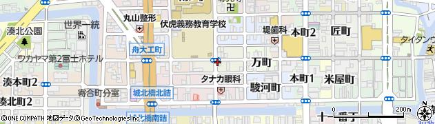 和歌山県和歌山市西ノ店周辺の地図