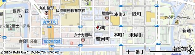 和歌山県和歌山市万町周辺の地図