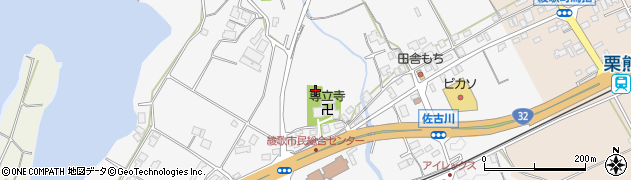 香川県丸亀市綾歌町栗熊西烏田周辺の地図