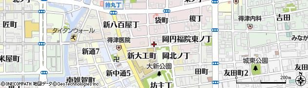 和歌山県和歌山市岡円福院西ノ丁周辺の地図