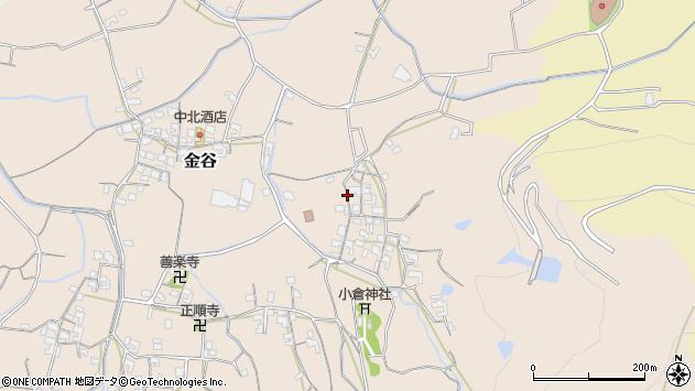 〒649-6274 和歌山県和歌山市金谷の地図