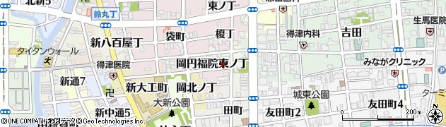 和歌山県和歌山市岡円福院東ノ丁周辺の地図