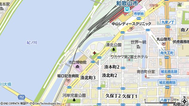 〒640-8204 和歌山県和歌山市伝法橋南ノ丁の地図