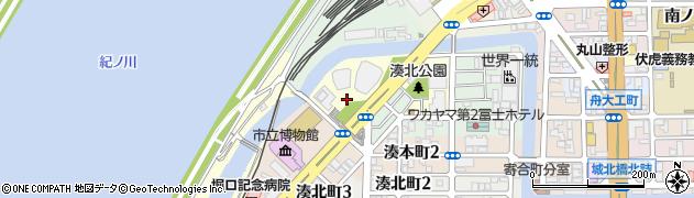 和歌山県和歌山市伝法橋南ノ丁周辺の地図