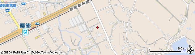 香川県丸亀市綾歌町栗熊東小路周辺の地図