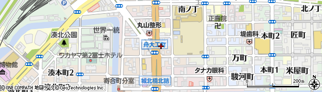 細川自動車周辺の地図