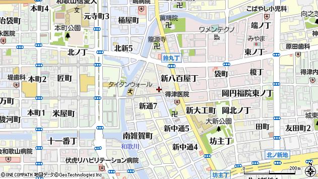 〒640-8377 和歌山県和歌山市新堺丁の地図