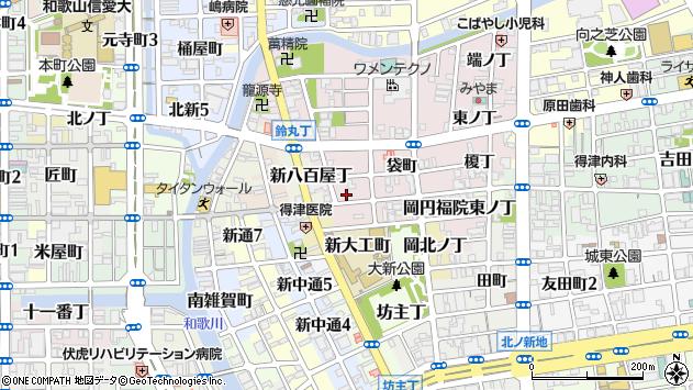 〒640-8386 和歌山県和歌山市畑屋敷雁木丁の地図