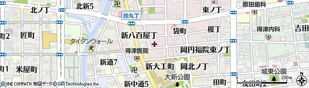 和歌山県和歌山市畑屋敷(雁木丁)周辺の地図