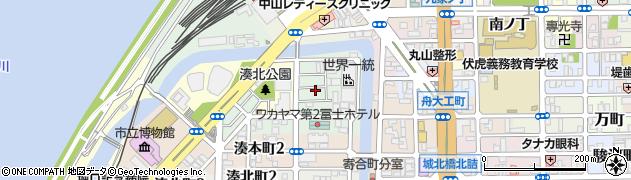 和歌山県和歌山市湊紺屋町周辺の地図