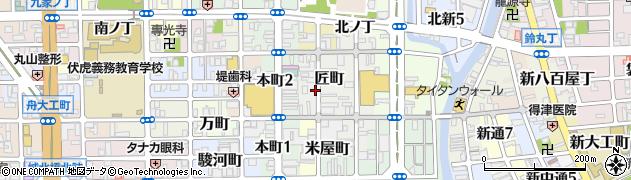 和歌山県和歌山市匠町周辺の地図