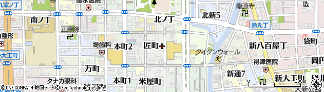 和歌山県和歌山市中ノ店周辺の地図