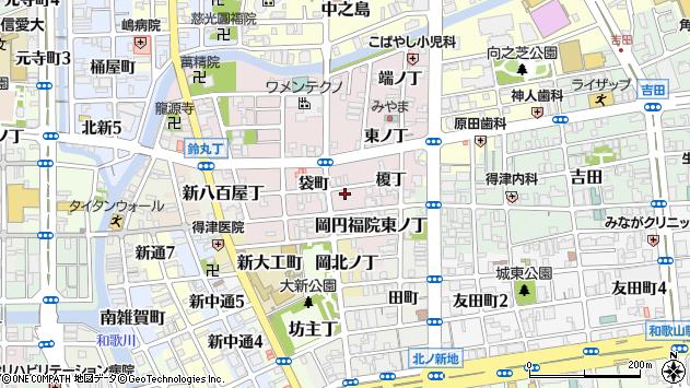 〒640-8384 和歌山県和歌山市畑屋敷葛屋丁の地図