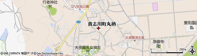 和歌山県紀の川市貴志川町丸栖周辺の地図