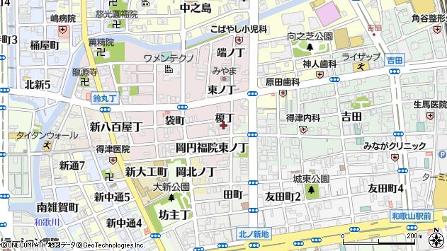 〒640-8382 和歌山県和歌山市畑屋敷榎丁の地図