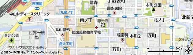 和歌山県和歌山市専光寺門前丁周辺の地図