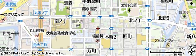 和歌山県和歌山市北大工町周辺の地図
