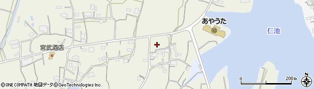香川県丸亀市綾歌町岡田東北原西周辺の地図