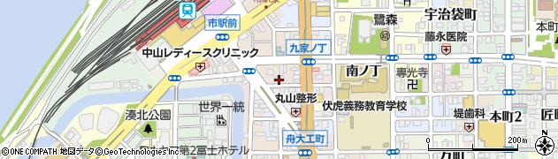 和歌山県和歌山市元博労町周辺の地図