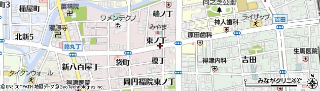 和歌山県和歌山市畑屋敷(東ノ丁)周辺の地図
