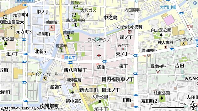 〒640-8395 和歌山県和歌山市畑屋敷中ノ丁の地図