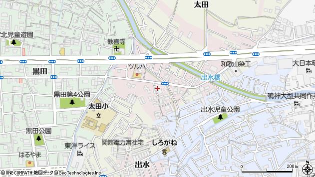 〒640-8321 和歌山県和歌山市出水の地図