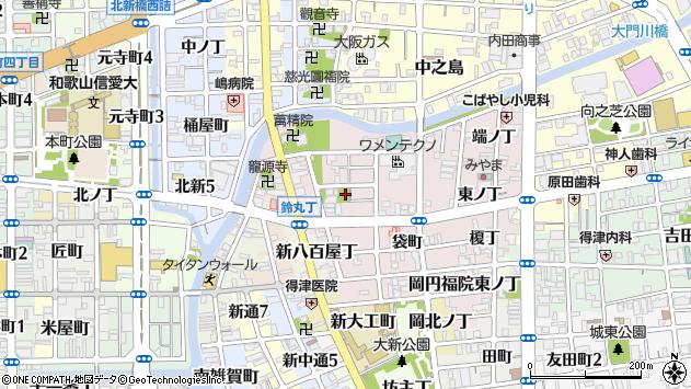 〒640-8396 和歌山県和歌山市畑屋敷西ノ丁の地図