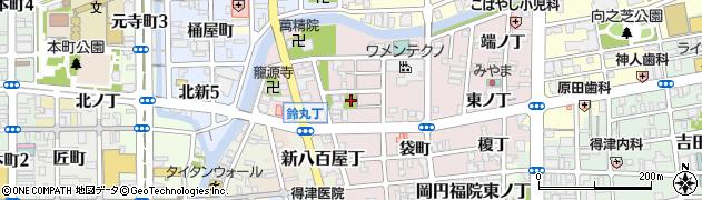 和歌山県和歌山市畑屋敷(西ノ丁)周辺の地図