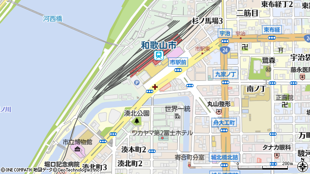 〒640-8203 和歌山県和歌山市東蔵前丁の地図