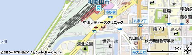 和歌山県和歌山市東蔵前丁周辺の地図