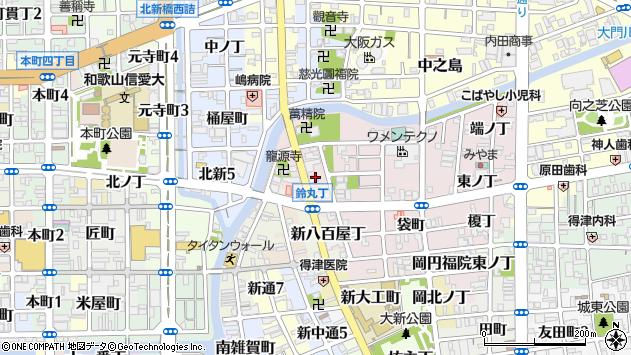 〒640-8378 和歌山県和歌山市鈴丸丁の地図
