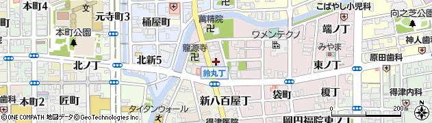 和歌山県和歌山市鈴丸丁周辺の地図