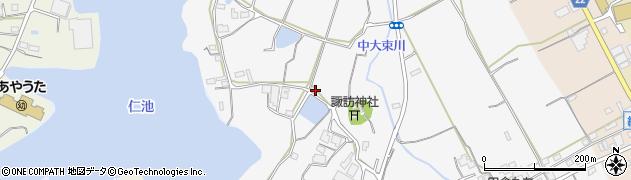 香川県丸亀市綾歌町栗熊西荒周辺の地図