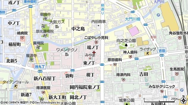 〒640-8393 和歌山県和歌山市畑屋敷端ノ丁の地図